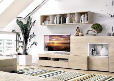 COMEDOR BUFFET + TV
