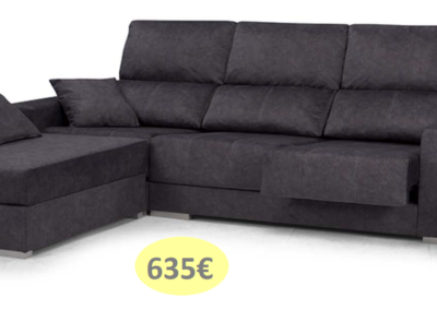 SOFÁ CHAISELONGUE LIDIA