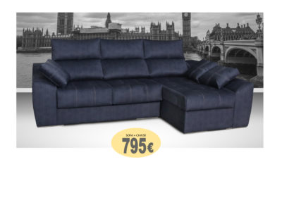 SOFA CHAISELONGUE LONDRES